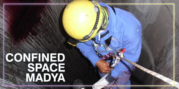 Pelatihan Confined Space Madya