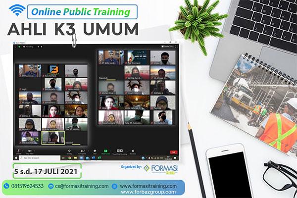 Pelatihan Ahli K3 Umum Online