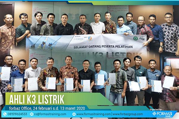 Publi Training Ahli K3 Listrik 24 Feb 2020