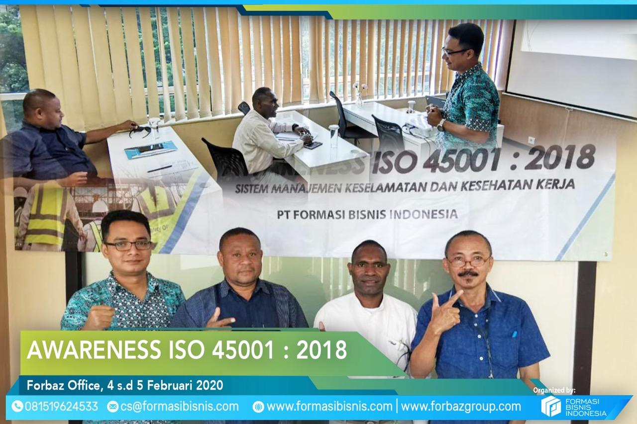 Awareness ISO 45001 Jan 2020