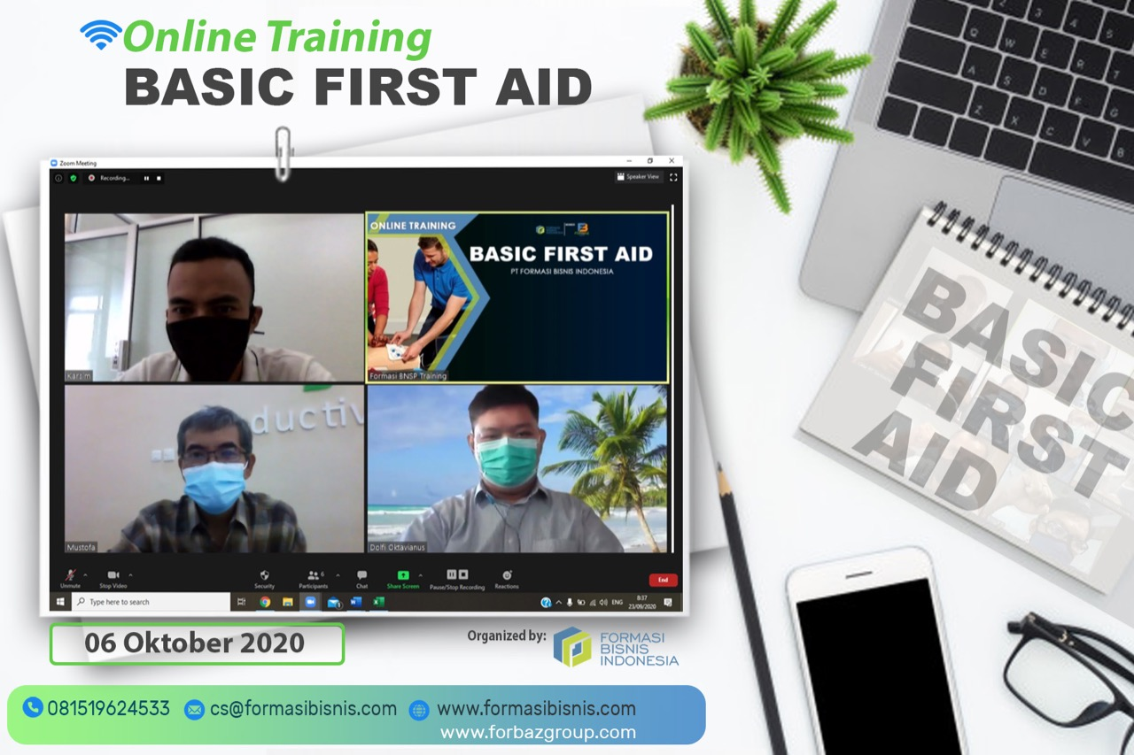 Online Training Basic First Aid