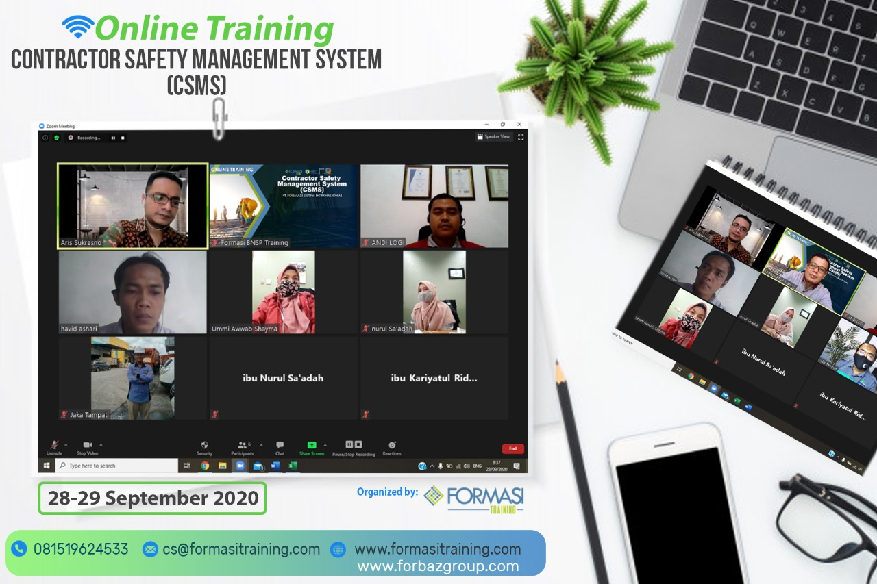 Online Training CSMS 28-29 Sept 2020