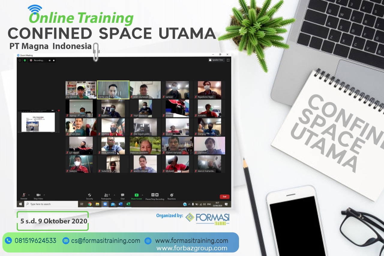 Online Training Confined Space Utama