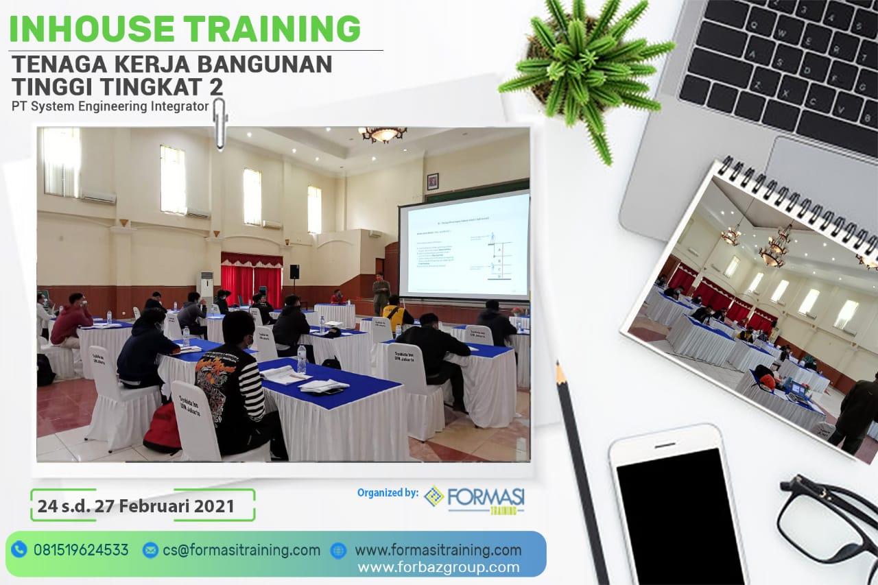Inhouse Training TKBT TK 2 PT. System Engineering Integrator, 24 - 27 Februari 2021