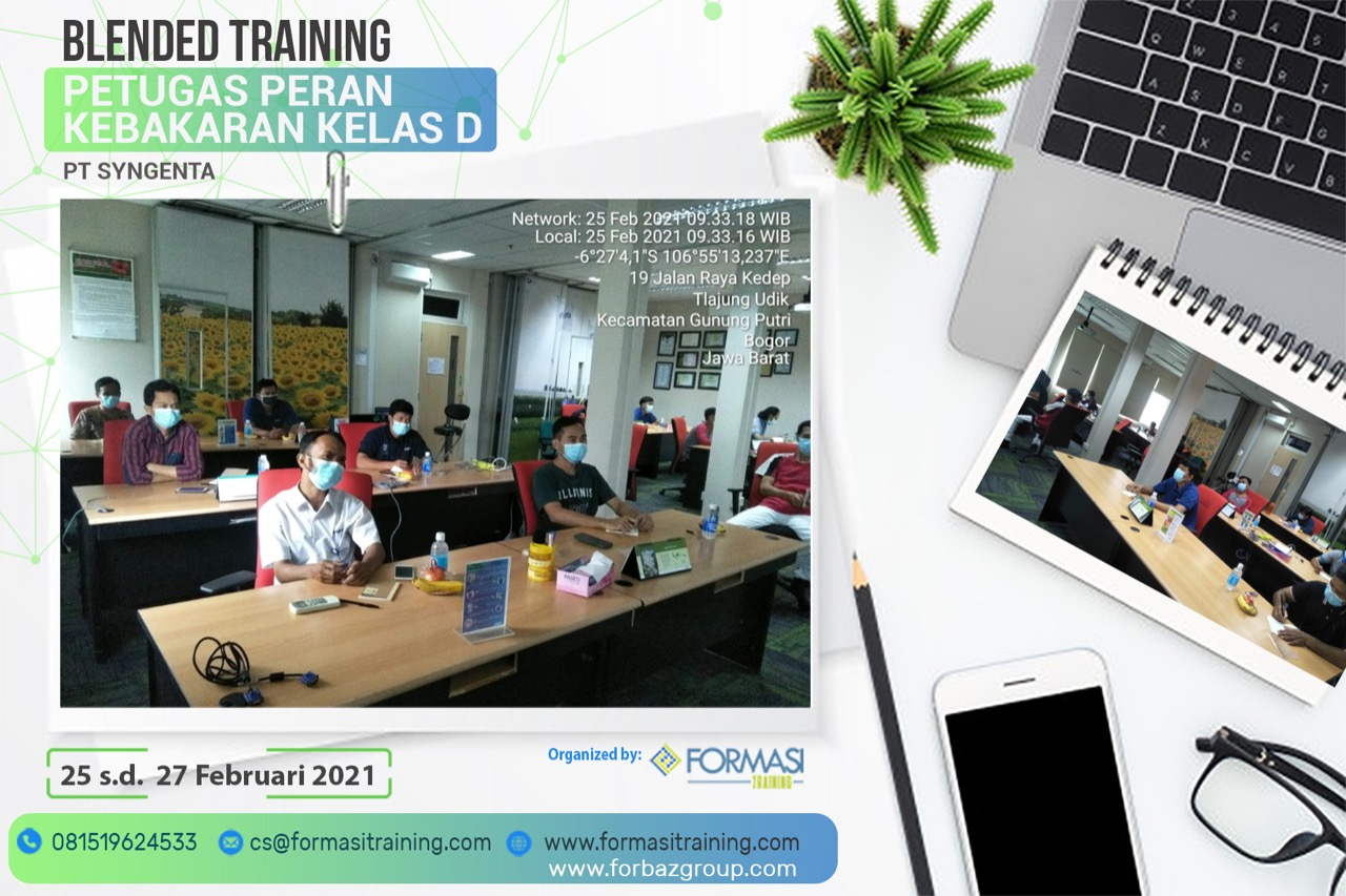 Training Damkar D PT Syngenta, 25- 27 Februari 2021