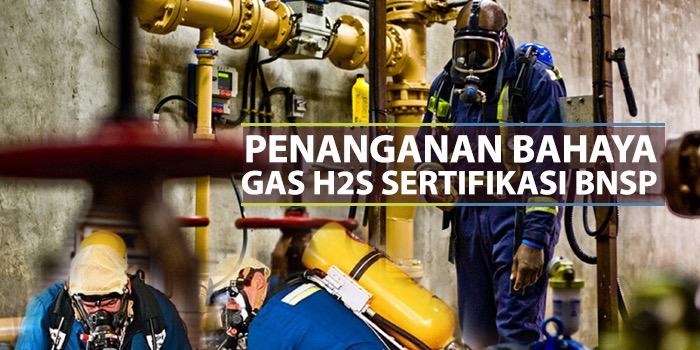 Petugas Penanganan Bahaya Gas H2S